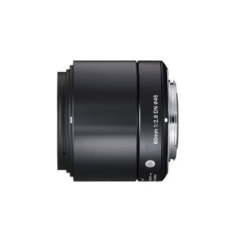 SIGMA 単焦点望遠レンズ Art 60mm F2.8 DN ブラック マイクロフォーサーズ用 350635