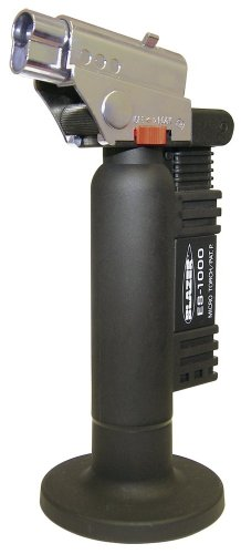 Great Deal! Blazer ES1000CR Spitfire Refillable Butane Torch, Black