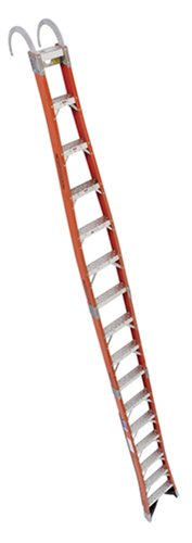 Buy Werner 16-Foot 300-Pound Duty Rating Fiberglass Tapered Posting Ladder #TPF16-1