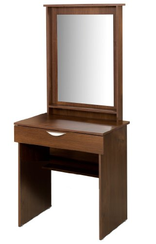 Nexera Nocce Vanity With Mirror, Truffle Finish front-957796