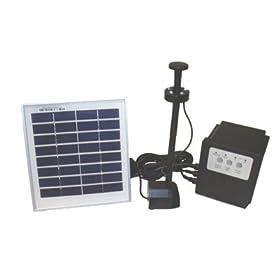 3 Watt Solar Powered Water Fountain Pump
