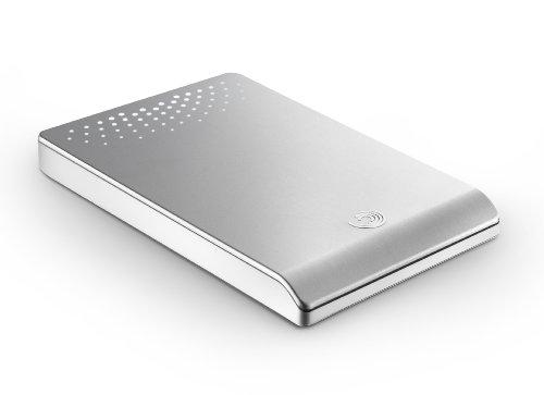 Seagate FreeAgent Go 640 GB USB 2.0 Portable External Hard Drive ST906403FGA2E1-RK (Silver)