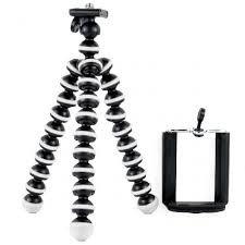 Tuzech Universal Spider Tripod with Holder for All phones / Selfie sticks / DSLR