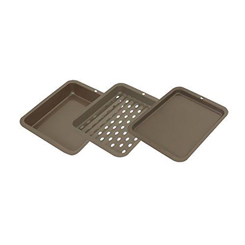 Rangekleen Home Kitchen Gadgets Cooking Utensils Non-Stick Petite Bakeware 3 Piece Set