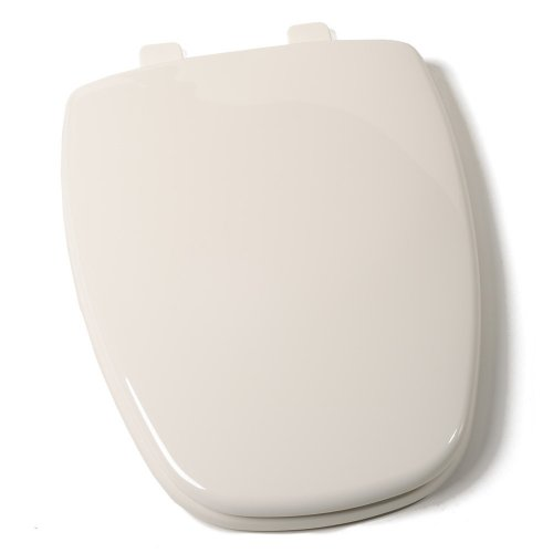 Comfort Seats C1B3E9S-02 EZ Close Premium Eljer New Emblem Design Plastic Toilet Seat, Elongated, Biscuit
