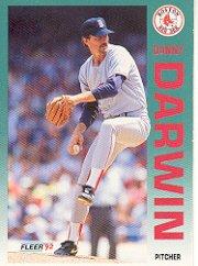 1992 Fleer #38 Danny Darwin