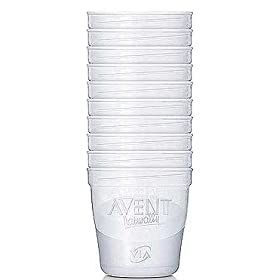 Avent VIA 6oz Bases 10ct