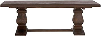 "Aldridge Coffee Table, 18Hx55Wx28""D, ANTIQUE WALNUT"