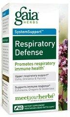 Respiratory Defense Gaia Herbs 60 VCaps