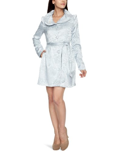 Yumi Original Jacquard Y12588 Women's Coat Grey