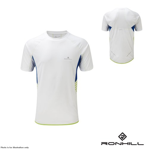 Ron Hill Mens Advance Short Sleeve Crew Running T-Shirt