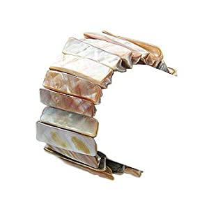 Beach Stretchable Sensational Shell Bracelet - Jewelry by Gems Couture
