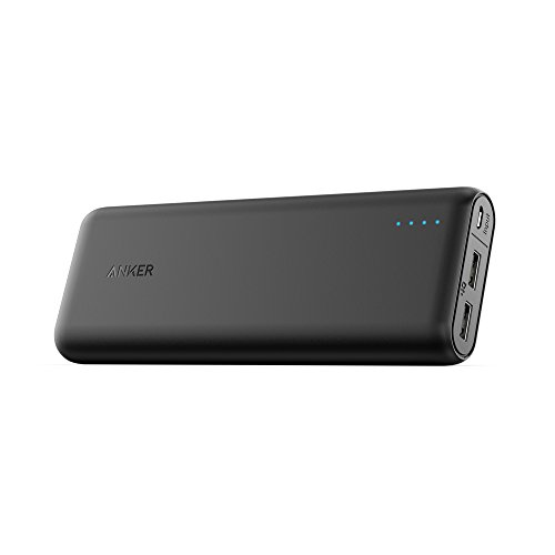 Anker PowerCore 20100 (20100mAh 2ポート 超大容量 モバイルバッテリー) iPhone&Android対応 A1271011