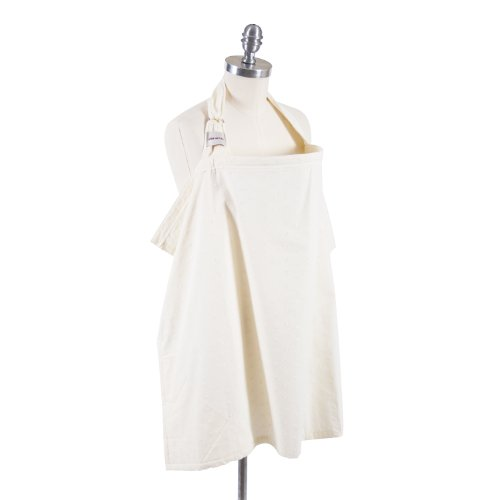 Bebe Au Lait Nursing Cover, Eyelet Ivory (Discontinued by Manufacturer)
