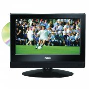 """Naxa 13.3"""" Widescreen Led Hdtv With Built-In Digital Tuner & Dvd Player"""