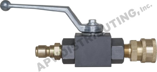 APW Distributing Ball Valve Kit for Pressure Washers 3 8 7000 PSI
