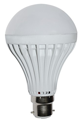 Regular 7W LED Bulb (Cool White, Set of 5)