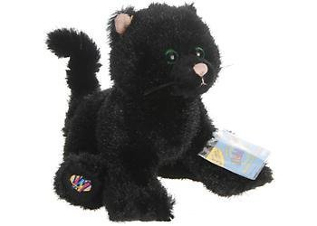 Webkinz Plush Pet - Black Cat ( Halloween Special ) Limited Edition - 1