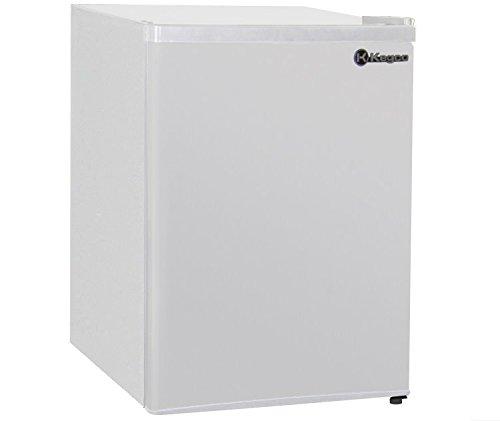 Kegco MDC240-1WW - 2.4 CF Compact Refrigerator - White