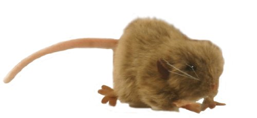 "Brown Mouse Stuffed Animal Plush Toy 5"" L"