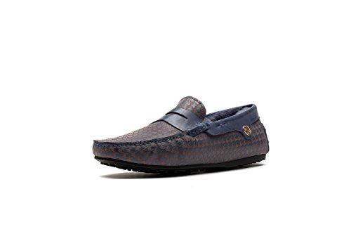 OPP Hommes Chaussures Fourrées Mode Loafer Plat Talon Hiver