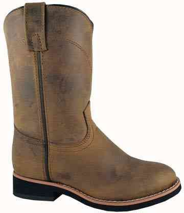 Smoky Mountain 3024 Boy'S Muskogee Boot Oil Distress Child'S 9