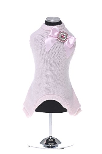 trilly-tutti-brilli-celine-dog-s-pullover-mit-kristall-bow-pin-x-large-pink