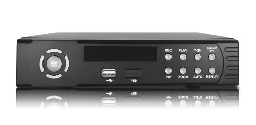 Christmas New 4 Channel Embedded Linux US411Z-WS D1 H.264 Network DVR With NO Hard Drive, Real time True Triplex with built web server for remote viewing and operation, backup and operation 4CH DVR 480FPS SATA ready Deals