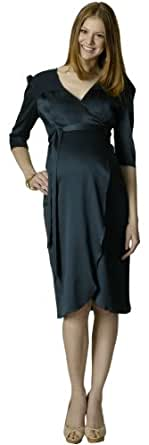 Rosie Pope Maternity Coco Wrap Dress Teal XSM