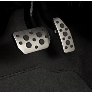 2013-2014 Chevrolet Spark Premium Stainless Pedal Covers by GM 96683187 (Auto) by Chevrolet (2014 Chevy Cruze Pedals compare prices)