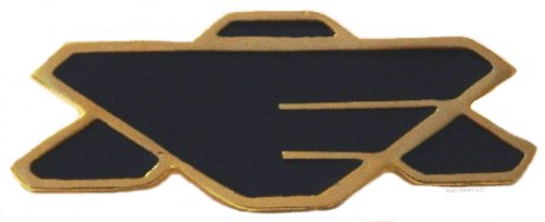 Babylon 5 Earth Alliance Full Sz Chest Insignia Pin front-619682