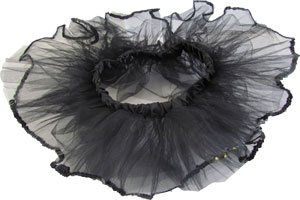 Black Sequin Tiny Dancer Tutu Ballet Dance Fairy Princess Costume Accessory