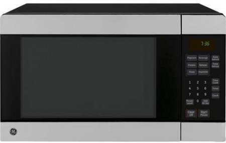 GE JES0736SPSS 0.7 cu. ft. Countertop Microwave Oven with 700 Watts - Stainless Steel