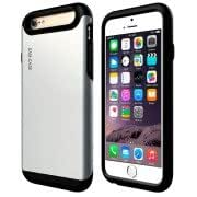 PC + TPU Combination Case for iPhone 6 Plus(Silver)