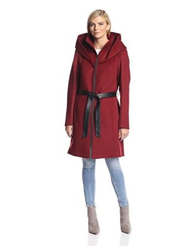 Soia & Kyo Women's Hooded Coat with Belt
