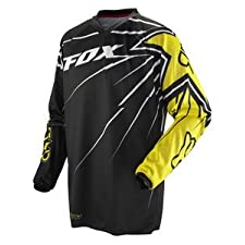 FOX HC ROCKSTAR YOUTH MX/OFFROAD JERSEY BLACK/YELLOW XL