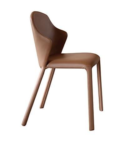 Domitalia Opera Chair, Tobacco Grain Leather
