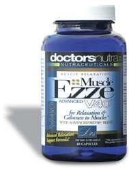 Muscle Ezze V40 Relaxation Formula Stress and Muscle Relief with Chamomile, Valerian and Plus Other Herbs and Botanicals