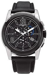 Jorg Gray Swiss ISA Chrono Black Dial Men's watch #JG9400-12