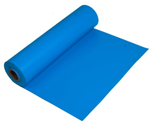 "ESDProduct Vinyl General Purpose Mat Roll, 3/32"" Thick, 10' Length, 2-1/2' Width, Blue at Sears.com"