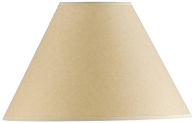 Cal Lighting SH-1074 9-1/4-Inch Side Kraft Paper Shade
