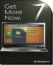 Microsoft Windows 7 Anytime Upgrade [Premium to Ultimate]