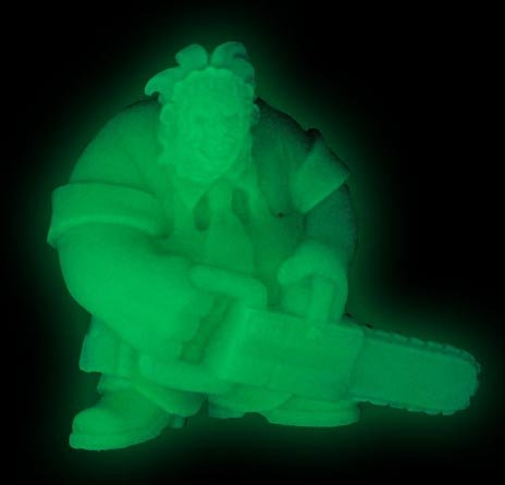 Cinema Of Fear Tiny Terrors Glow In The Dark Figure Leatherface