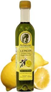 Ariston Infused Extra Virgin Olive Oil with Lemon by Ariston, LLC