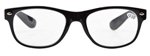 eyekepper 5 pack hinges 80 s reading glasses 1 75