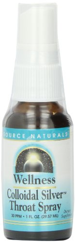 Source Naturals Wellness Colloidal Silver Throat