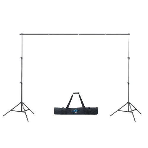 Shutter Starz Professional Quality Photo Backdrop Stand For Muslin & Scenic Backgrounds