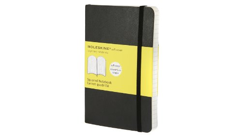 Moleskine Squared Notebook Soft Cover Pocket