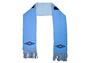 Umbro Manchester City Scarf Light Blue