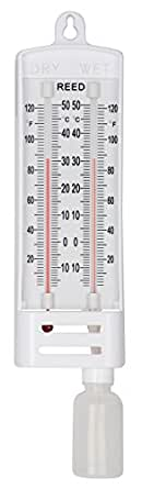 Reed WD-5 Wet /Dry Bulb Hygrometer with NIST Calibration